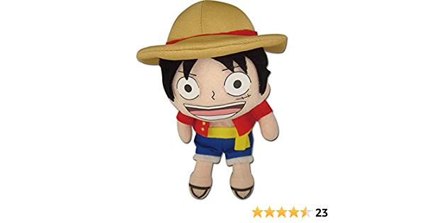 Great Eastern GE-8986 One Piece 10 SD Luffy Plush