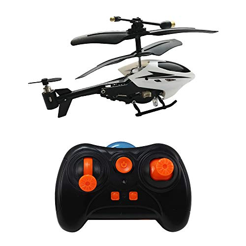 HAOXIN Mini RC Helicopter, RC Plane Smart Plane 3.5 Channel Infrared with Led Light Office Toy for Relax Ready to Fly Remote Control Toys ()