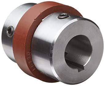 """Boston Gear BF1811/8X11/8 Shaft Coupling, Spider Ring (3-Jaw), Coupling Size BF18, 2.250"""" Hub Diameter, 1.125"""" Driven Hub Bore, 1.125"""" Driver Hub Bore, 2.719"""" Max Outer Diameter, 8 horsepower Max HP, 300 pounds per inch Max Torque"""
