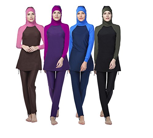 a064c877b0 Professional Swimwear 2017-New-Women-Muslim-Swimwear-Swimsuit-Full-Cover- Islamic-Bathing-Suits-Burkini