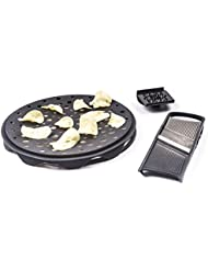 Innovia Imports 4897056740167 Chips Maker Microwaveable Food, Charcoal Grey
