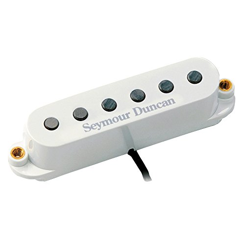 Rp Part (Seymour Duncan SSL-5 RW/RP Custom Staggered Single Coil Middle Pickup White)
