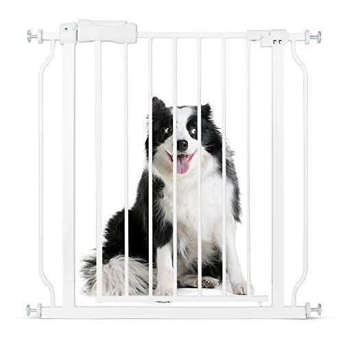 Cyttengo Multi-Use Metal Baby Gate Pet Gate 22