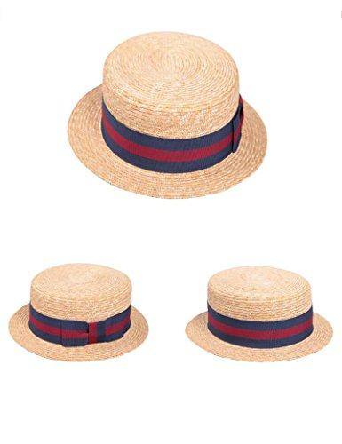 Chapeau de soleil Été féminin chapeau de soleil mode Sauvage Crème solaire chapeau de soleil Loisir Achats Chapeau de paille plat Chapeau de plage Plage Cap