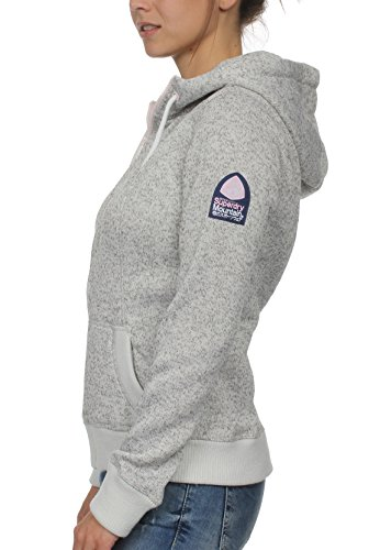 Grey M Sweatshirts Storm Grit Hoodies Superdry Ziphood And Female Pastel UPzP0