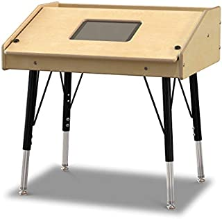 """product image for Jonti-Craft 3395JCE Single Tablet Table, Stationary, E-Height (15""""-24"""" Adjustable Height)"""