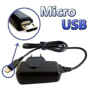 Accesoriosparamovil® - Cargador de Red Micro USB para Sony-Ericsson Tipo ST-21