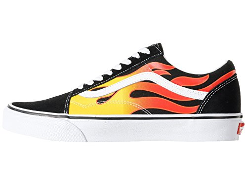 180965f9bc Vans Old Skool Flame OG Black True White Size 10.5 - Buy Online in Oman.