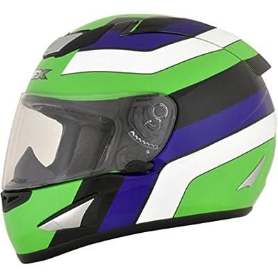 AFX 01019617 FX-95 Vintage Factory Helmet (Vintage Kawasaki, X-Large)