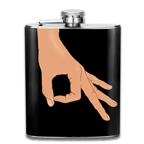 Circle Finger Game Unisex Hip Flask Portable Pocket Bottle Flasks Container Flask Pocket For Men And Women