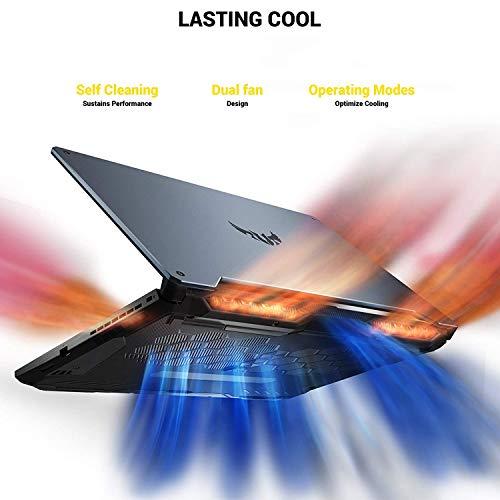 "ASUS A15 TUF 506IV Gaming Laptop 15.6"" 144Hz FHD IPS RTX 2060 AMD Ryzen 7-4800H GHz 32GB RAM 2TB SSD RGB Backlit KB RJ-45 Ethernet HDMI 2.0 90WHr Battery Mytrix HDMI 2.0 Cable Win 10"
