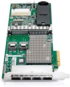 24 Ports Smart Array P812 PCIe Supports up to 108 Hard Drives New Bulk HP 587224-001 Controller 1GB Renewed SAS