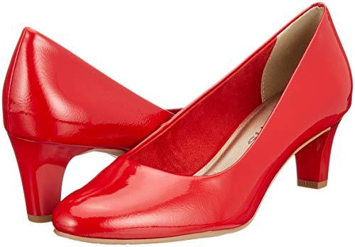 Tamaris 22493 Escarpins 520 Femme 21 Patent chili Rouge BxzqFpw