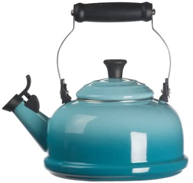 Le Creuset Q3101-17 Enamel-on-Steel Whistling Teakettle