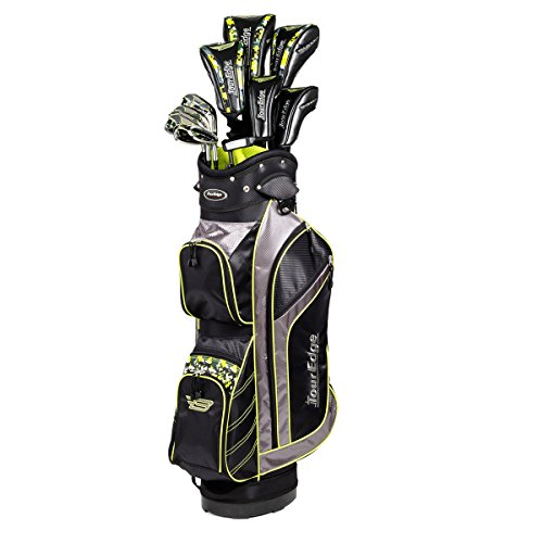 Tour Edge Golf Bazooka Graphite Box Full Golf Club Set, Black (Tour Edge Golf Club Set)