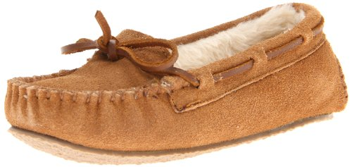 Minnetonka Cassie Slipper (Toddler/Little Kid/Big Kid),Cinnamon,1 M US Little Kid