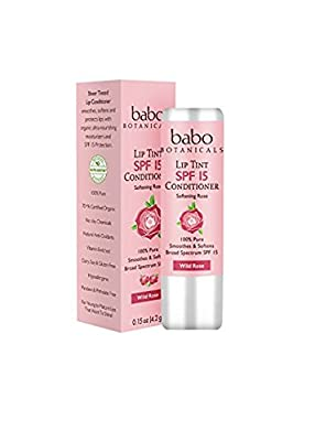Babo Botanicals SPF 15 Lip Tint Conditioner
