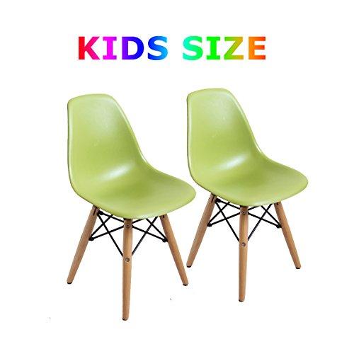 Buschman Set of Two  Green - Kids Eames Style Retro Modern D