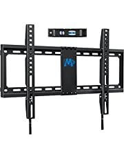 """Mounting Dream Fixed TV Mount Bracket Low Profile for Most of 42-70 Inches TV,Wall Mount fits 16"""", 18"""", 24"""" Wood Studs, Easy for TV Centering, Ultra Slim TV Wall Bracket up to VESA 600 x 400mm and 132 LBS, Low Profile and Space Saving MD2163-K"""