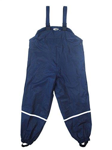 Step In Kinder Regenlatzhose mit Fleece gefüttert, 6311, marine, Gr. 110