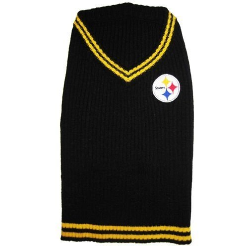 Pittsburgh Steelers Dog Sweater by DoggieNation