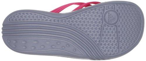 adidas Kistulla SC K - Sandalias de material sintético infantil rosa - Pink (Blaze Pink S13 / Vivid Yellow S13 / Tech Grey F12)