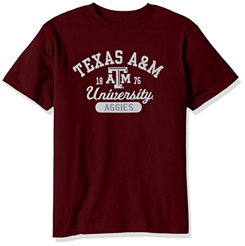 (College Kids NCAA Texas A&M Aggies Youth Short Sleeve Tee, Size 8-10 /Small, Maroon)