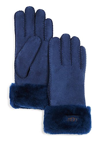 UGG Women's Classic Turn Cuff Glove Indigo SM by UGG