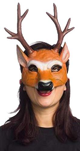 Super Soft Form Fitting Latex Deer Mask -