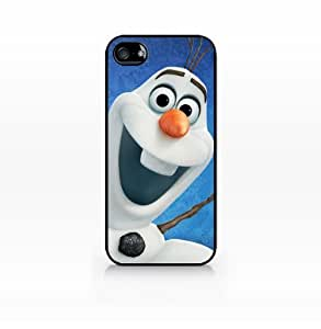 Olaf, Disney Frozen-Case For Iphone 6 4.7 Inch Cover case, Case For Iphone 6 4.7 Inch Cover Hard Plasic, Black case SCC-IP5-010 BLACK