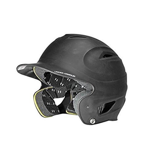 Under Armour Matte Painted Batting Helmet Graphite Size One Size
