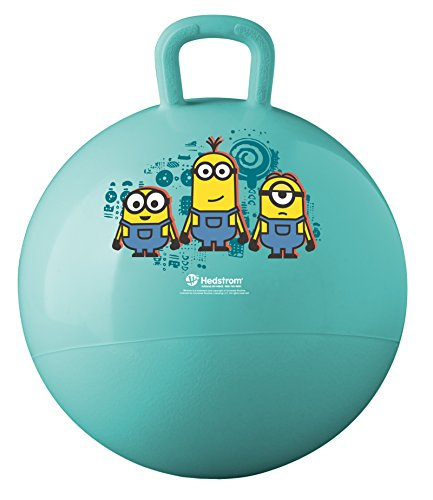 Hedstrom Minions Hopper Ball, Hop Ball for Kids, 15 in