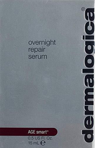 41jLNn2bUEL - Dermalogica Overnight Repair Serum, 0.5 Fl Oz - Anti Aging Face Serum with Peptides, Argan Oil and Rose Oil
