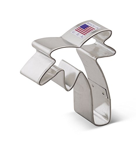 Ann Clark Small Palm Tree Cookie Cutter - 2.8 Inches - US Tin Plated Steel