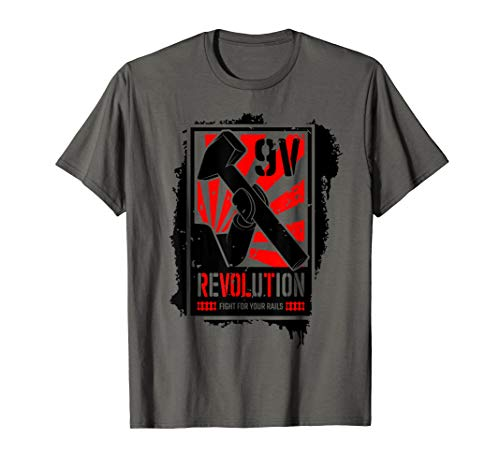 9 volt Train Revolution Brick Shirt ()