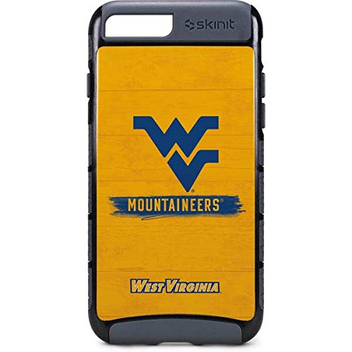 Skinit West Virginia University iPhone 8 Plus Cargo Case - West Virginia Mountaineers Design - Durable Double Layer Phone Cover