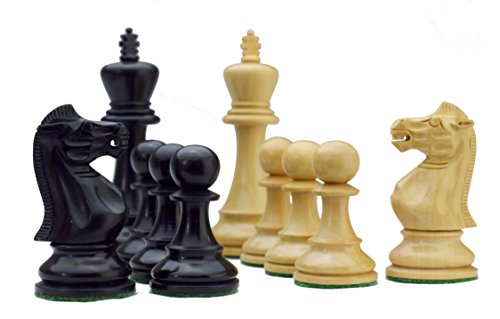 ROOGU Old English Series 3.5'' Staunton - Chess Figures Set Handmade India