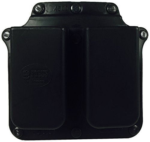 (Fobus Roto Belt 4500RB Double Mag Pouch Single Stack .45)
