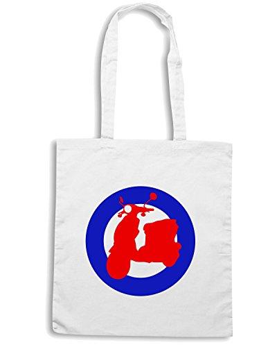 T-Shirtshock - Bolsa para la compra OLDENG00027 buddy dot mod Blanco