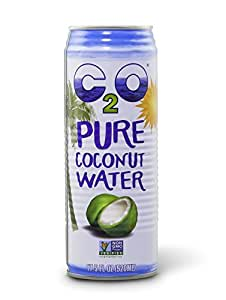 C2O Pure Coconut Water, 17.5 oz. Containers (Count of 12)