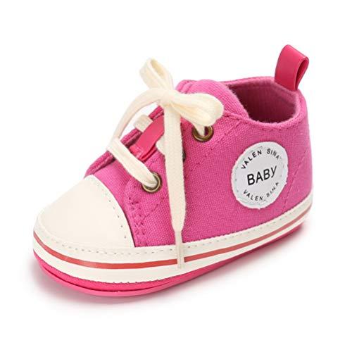 Bambina Scarpe Passi Da Tela Ginnastica Caldo Rosa Stringate Neonata  Neonata Di Primi Scarpine Scivolo Anti grtx4wqrC 91a7ef485bb2