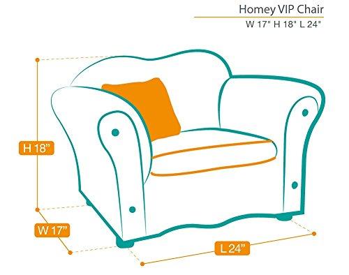KEET Homey VIP Organic Kid's Chair, Navy Blue by Keet (Image #3)