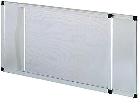 Vigor 75005 mosquitera, extensible, anodizado, Altura de 50 x 40 cm