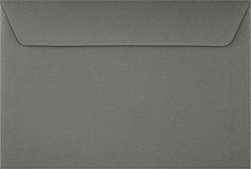 6 x 9 Booklet Envelopes - Smoke Gray (50 Qty.)