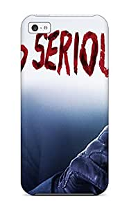 Hot YYmkERM1201CrAKo Why So Serious? Tpu Case Cover Compatible With Iphone 5c