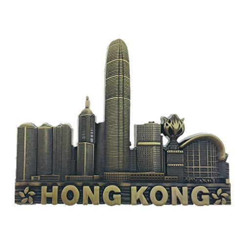 (Refrigerator Magnets Resin 3D Funny Victoria Hong Kong China City Tourist Souvenirs Fridge Stickers Magnetic Fridge Magnet for Whiteboard Home Kitchen Decoration Accessories Gifts)