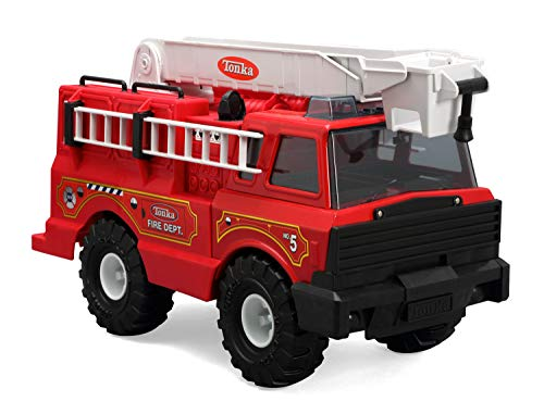 Tonka 90219 Classic Steel/Plastic Fire Engine Vehicle (Large Tonka Fire Truck)