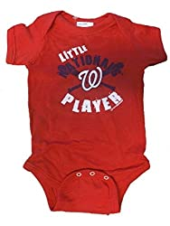 Washington Nationals MLB Little Player Newborn Infant Creeper (0-6 Months)
