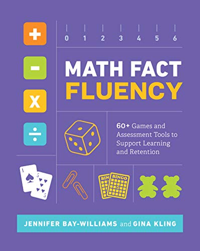Math Fact Fluency: 60+ Games and Assessment Tools to for sale  Delivered anywhere in Canada