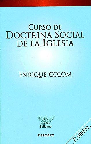Curso de doctrina social de la Iglesia pdf
